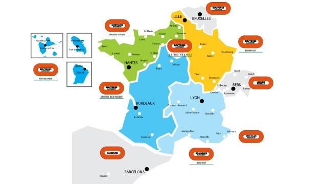 Bouygues Construction harmonise la déclinaison des marques de ses filiales régionales dédiées au bâtiment en France