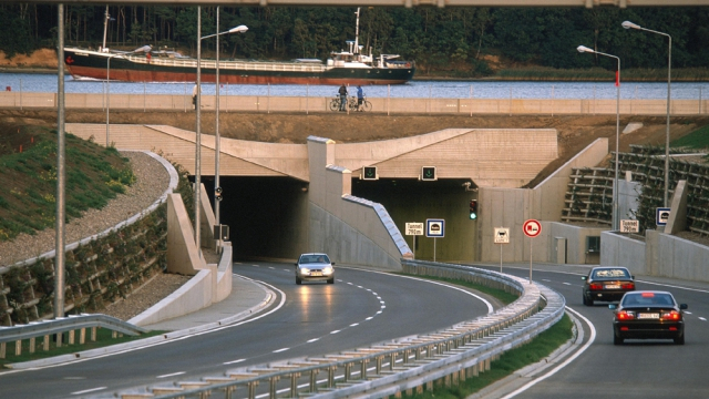 Le tunnel de Rostock