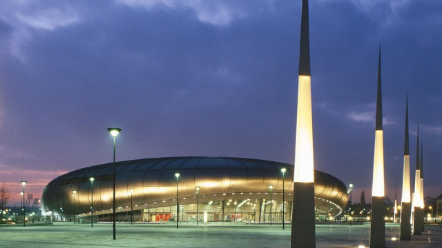 The Budapest Sports Arena
