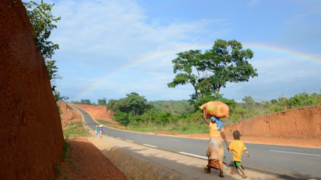 Route Garoua Boulaï-Nandeké, Cameroun