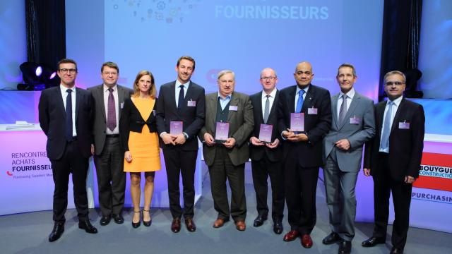 Trophées fournisseurs Bouygues Construction