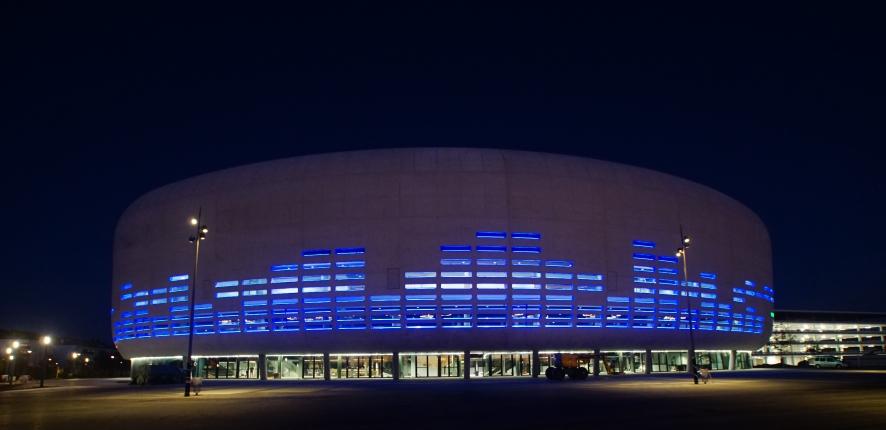 Bordeaux Métropole Aréna de nuit