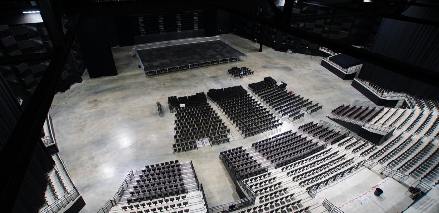 Bordeaux Métropole Aréna intérieur