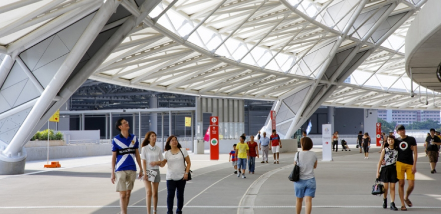 Sports Hub | Realised by Bouygues Construction