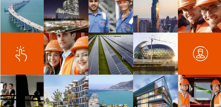 Carte de voeux 2017 - Bouygues Construction