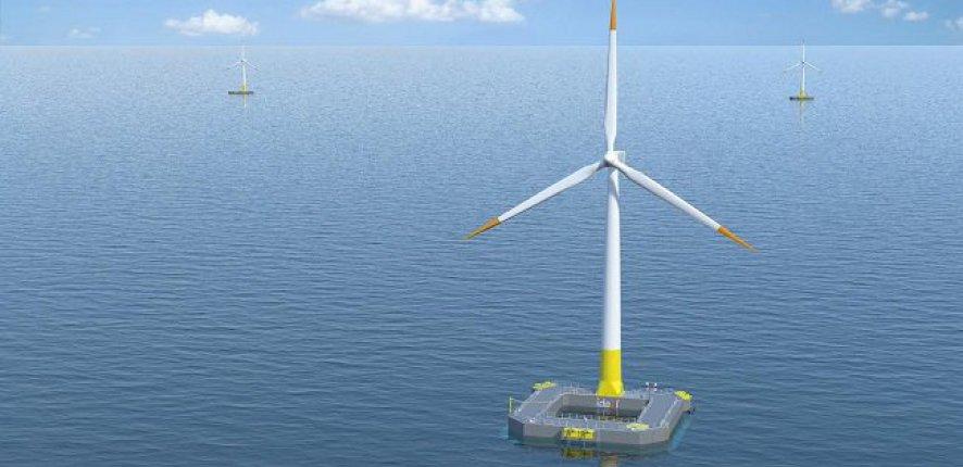 Floatgen - Première éolienne en mer en France