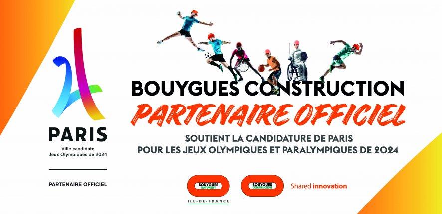 Bouygues Construction partenaire de Paris 2024