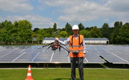 Les drones :  des engins volants bien identifiés  - Bouygues Construction