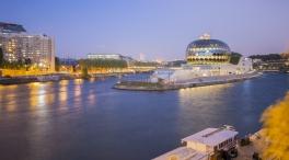 Vue exterieure de La Seine Musicale