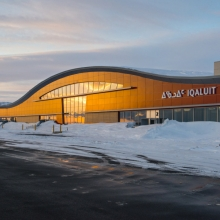 The new Iqaluit Airport takes off!