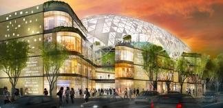 Vélodrome de Marseille : Bouygues Construction va réaliser le centre commercial du Prado