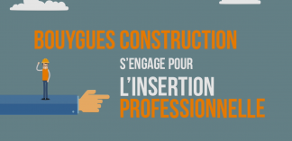 Bouygues Construction s'engage pour l'insertion professionnelle
