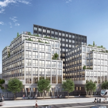Bouygues Construction is chosen to develop and build the Chapelle International property development,