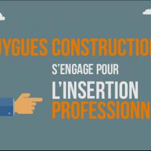 Bouygues Construction s'engage pour l'insertion professionnelle