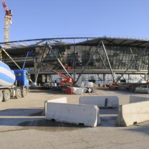 Terminal 1 de l'Aéroport Lyon Saint-Exupéry