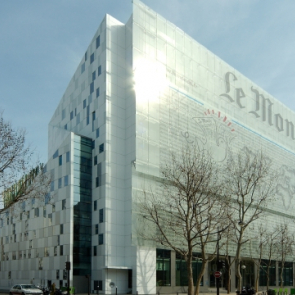 The Le Monde headquarters