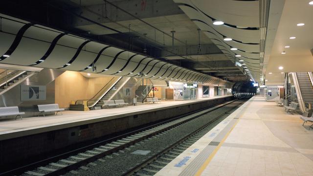 Tunnel ferroviaire de Sydney - Bouygues Construction