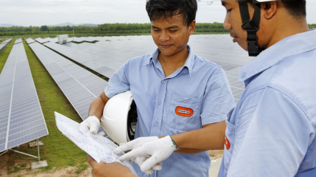 Soleq photovoltaic solar power plant