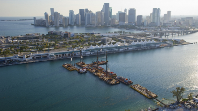 Le tunnel du port de Miami